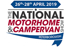 National Motorhome & Campervan Show 2019 Peterborough