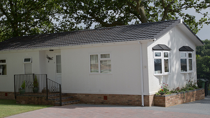 Tredegar Twin Residential Park Home